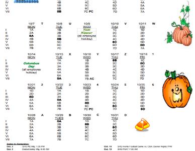 Shaker Schedules