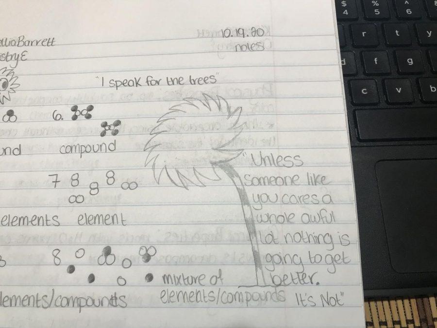 Kamellia Barrett, Chemistry Notebook, Grade 10
