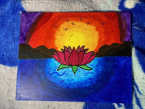 """Lotus Sunset"""