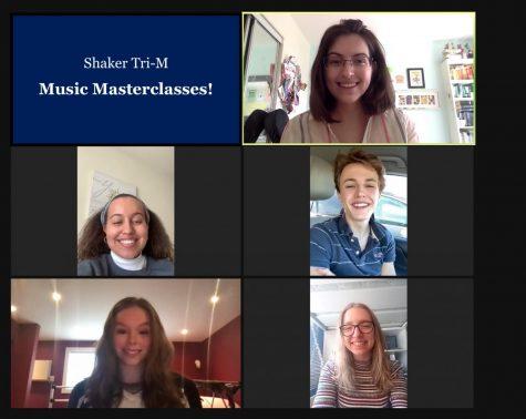 "Music Mentorship in Shaker: Tri M organizes virtual ""masterclasses"" with elementary school student musicians"
