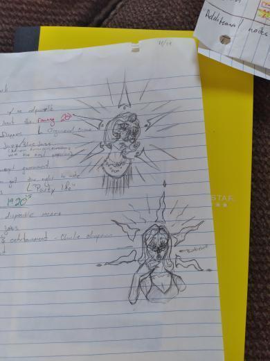 Jaxx, History and Government notebook, Grade 11